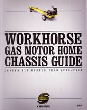 1999 - 2006 Workhorse Motorhome Chassis Guide Manual Book Operator Instructions