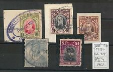 SOUTHERN RHODESIA  -  Small lot of REVENUE STAMPS - USED