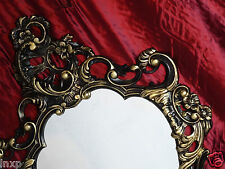 Shabby Chic Black/Gold Wall Mirror Antique Baroque 50X76 Wall Decoration 118 2