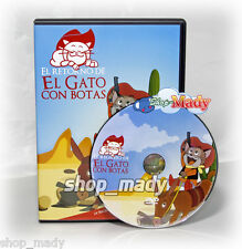 El Gato con Botas el Retorno, de Toei animation en ESPAÑOL LATINO DVD Region 4