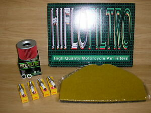 ZZR1100 D1-D7 93-98 Service Kit Air Filter Oil Filter Spark Plugs ZZR 1100