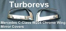 Cromo Puerta Espejo Retrovisor Tapa Tapas Para Mercedes Clase C W204 Saloon