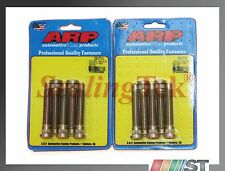 ARP 100-7712 Extended Length Wheel Stud Kit 5-lug 2-packs 10pcs Honda M12x1.5 RH