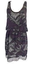 Robert Rodriguez Dress size 12 Multi Colour Knee Length Silk