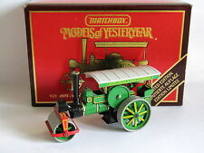 MATCHBOX MODELS OF YESTERYEAR 1894 AVELING-PORTER STEAM ROLLER J YOUNG 1/60 Y-21