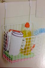 Over Door Hanging Cabinet Organizer Kitchen Storage Rack Bathroom Basket Hanging