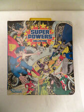 1984 Kenner DC Super Powers Collection Carrying Case w Action Figures Lot