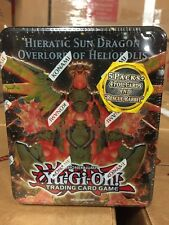 Yu-Gi-Oh! Hieratic Sun Dragon Tin For Card Game CCG TCG