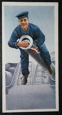 Royal Navy   Gun Cleaning     Vintage 1930's Colour Card ## VGC