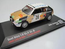 seat ibiza 1.5 glx gr.b rally catalunya 1986 altaya/ixo 1/43