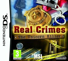 Real Crimes: The Unicorn Killer Nintendo NDS DS Lite DSi XL Brand New