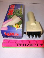 Vintage Kitchen Tool Roller Cutter Wheel Noodle Vegetable Herb Steel DALIA NIB