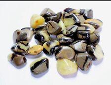 Septarian Tumbled Stone Bulk Specimen Gemstone Mineral 1/4 lbs Reiki Chakra Heal