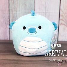 """KellyToy Squishmallow 8"""" Sheldon the Blue Seahorse RARE NEW HTF Plush Toy Animal"""