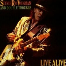 Stevie Ray Vaughan & Double Trouble-Live Alive CD 13 tracks JAZZ NUOVO