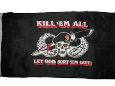 3x5 Special Forces Kill em Them All Let God Sort Them Out Military Flag 3'x5'