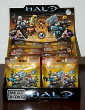 2011 HALO SERIES 3 STORE COUNTER DISPLAY BOX & 19 MEGA BLOKS PACKAGES SEALED NEW