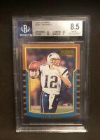 Tom Brady 2000 BOWMAN ROOKIE Card #236 - BECKETT GRADED 8.5 NM-MT+