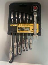 Dewalt DWMT74195 7pc. SAE Standard Ratcheting Flexible Head Wrench Set