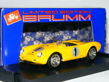 Brumm/Replicars REP 002 Porsche 550 RS 1956 Spa Freddy Rousselle #1 LTD ED 1/43