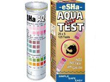 ESHA AQUA tiras de prueba rápida C12 NO2 NO3 PH KH GH/th Kit de Prueba de Agua Acuario