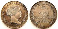 Spain-Isabel II. Medalla Visita a Sevilla 1862. SC-/UNC-. Plata 34,3 g. Escasa