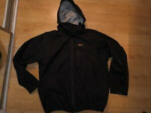 TRESPASS DLX men's black lightweight jacket size XL for big men vgc
