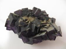 S.V.M - Purple Fluorite Crystals - 176 grams - Yunnan, China