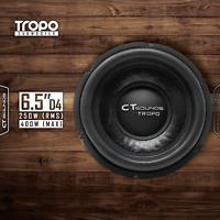 """CT Sounds Tropo 6.5"""" D4 200 Watt RMS Subwoofer 6.5 Inch Dual 4 Ohm Car Power Sub"""