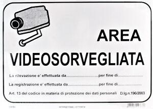 Lotto 50 Cartelli Segnaletica Letterfix 25 x 35 cm in PVC