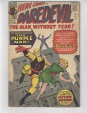 Daredevil #4/Silver Age Marvel Comic Book/1st Purple Man/VG