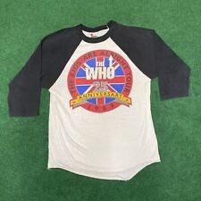 New listing Vintage 1989 The Who 25th Anniversary The Kids Are Alright Tour Signal Shirt Xl