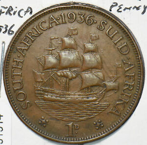South Africa 1936 Penny  191914 combine shipping
