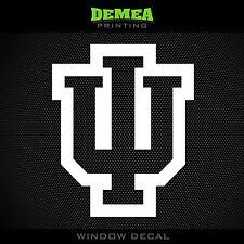 "Indiana - Hoosiers - IU - style2 - NCAA - Vinyl Sticker/Decal 5"""