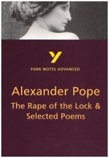 """The """"Rape of the Lock"""" and Selected Poems (York Notes Advanced),Robin Sowerby"""