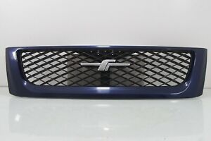 JDM Subaru Forester SF5 WRx STi Front Facelift Grille Mask Grill w/ Logo Blue