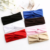Hair Accessories Twist Hairband Soft Elastic Women Headband Headwrap Cotton
