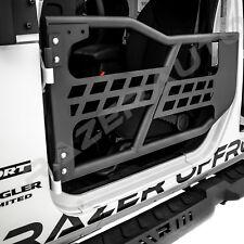 07-18 Jeep Wrangler JK Rock Crawler Body 4x4 Armor Front+Rear Tubular 2 Door Set