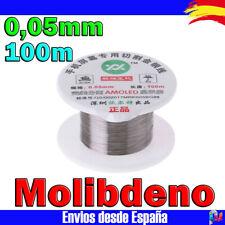 Cable Hilo de MOLIBDENO 100m 0,05mm separador pantalla LCD y Cristal Movil