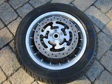 2008 Harley Davidson Electra Glide Ultra Classic Front Wheel Rim Tire w/ Rotors