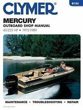 Mercury Outboard Shop Manual: 45-225 Hp, 1972-1989 (B726), Penton Staff