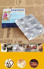 12 tabs Canine Dewormer Dog Roundworm Hookworm Tapeworm Whipworm Panacur <7kg