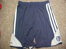 Official NBA Charlotte Bobcats Team Issued Navy Adidas Practice Shorts Size:4XLT