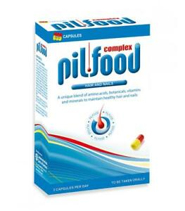 Pilfood Complex Hair Nutrients 90 capsules NEW ALL RED CAPSULES