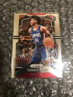 2019-20 Panini Prizm Terance Mann #296 Prizm RC Base Los Angeles Clippers