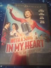 With a Song in My Heart: The Jane Froman Story (DVD, 2007) Susan Hayward