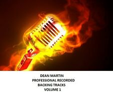 DEAN MARTIN PROFESSIONAL RECORDED BACKING TRACKS VOLUME 1