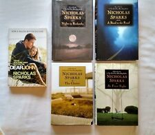 Nicholas Sparks Lot of 5 Books Dear John, The Choice, Nights in Rodanthe HB/PB