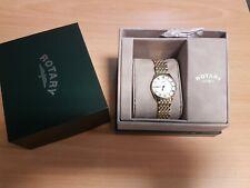 Rotary Ultra Slim Gold Swiss Watch