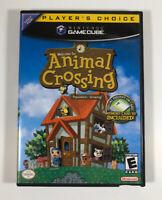 Animal Crossing (Nintendo GameCube, 2002) NO Manual or Memory Card